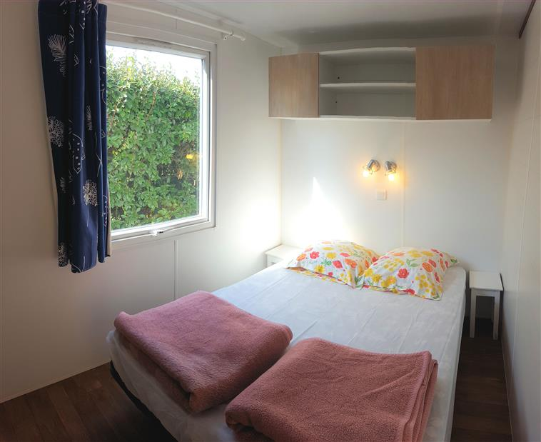 Chambre 1 mobil-home Ophea 2 chambres