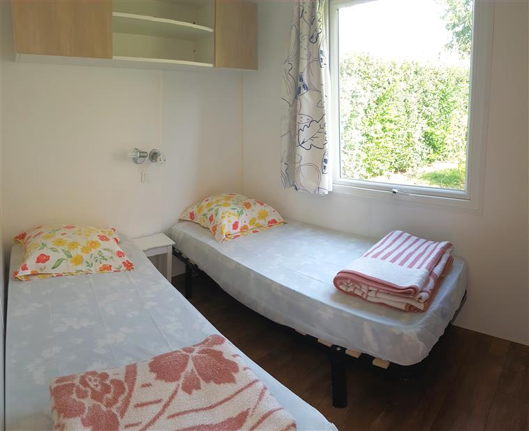 Chambre 2 mobil-home Ophea 2 chambres