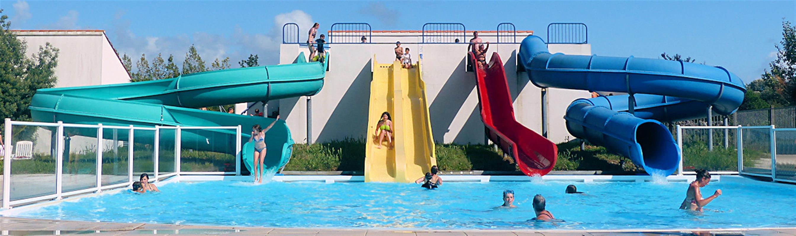 Camping avec toboggans aquatiques saint jean de monts - Camping saint jean de luz avec piscine ...